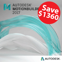 MotionBuilder 2017 Trade In Promo 3 Year Single-User w/Basic Support autodesk, MotionBuilder, MotionBuilder 2017, MotionBuilder 2016,MotionBuilder 2015, promo, sale, 3d modeling, 3d rendering, dynamics, annual, edit, pipeline, animation, rigging