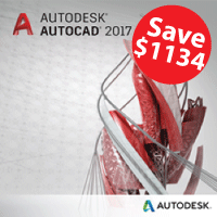 AutoCAD 2017 Trade In 3 Year Single-User w/Basic Support autodesk, autocad,autocad 2017,autocad 2016,autocad 2015,autocad promo, 3d modeling, 3d rendering, dynamics, annual, pipeline, animation, rigging, cad, cam, engineering, architecture