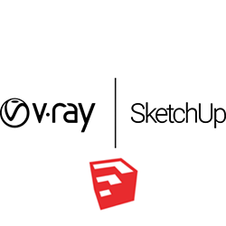 V-Ray for SketchUp 3.0 (Upgrade) v-ray, vray, sketchup, sketch, up, rendering, renderer, render, high, fidelity, chaos, group, engineering, architecture