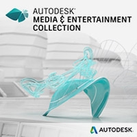 Media and Entertainment Collection (Annual) w/Basic Support autodesk, maya, 3ds, max, motion builder, mudbox 2017, 2016, 2015, 3d modeling, 3d rendering, dynamics, quarterly, pipeline, animation, rigging, cad