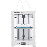 Ultimaker 3 Extended Ultimaker 3, Ultimaker 3 Extended, Ultimaker, 3D printer, Ultimaker 3D printer, 3D printing, desktop 3D printer, dual extrusion