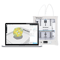 Ultimaker Cura Ultimaker Cura, Ultimaker 3, Ultimaker, 3D printer, Ultimaker 3D printer, 3D printing, desktop 3D printer, dual extrusion