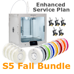 Ultimaker S5 Fall Bundle Ultimaker S5, Ultimaker 3, Ultimaker 3 Extended, Ultimaker, 3D printer, Ultimaker 3D printer, 3D printing, desktop 3D printer, dual extrusion, s5