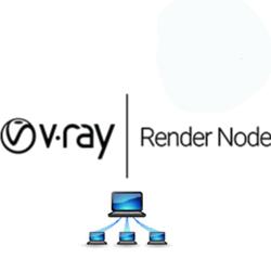 V-Ray Next Render Node x5 bundle v-ray, vray, 3ds, max, rendering, renderer, render, high, fidelity, chaos, group, bundle