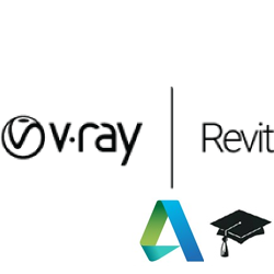 V-Ray for Revit Educational (1 year license) v-ray, vray, revit, rendering, renderer, render, high, fidelity, chaos, group, engineering, architecture, student, educational