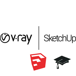 V-Ray Next for SketchUp Educational (1 year Online license) v-ray, vray, 3ds, max, Next , educational, education, rendering, renderer, render, student, high, fidelity, chaos, group, architecture, engineering, student