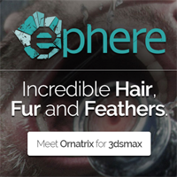 Ornatrix for 3ds Max hair, fur, feathers