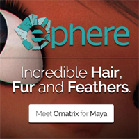 Ornatrix for Maya hair, fur, feathers